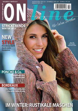 Strickheft Nr. 42 Herbst/Winter 2015/2016