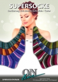 SUPERSOCKE 100 SORT.226 MERINO EXTRAFEIN-COLOR (Nr.119237)